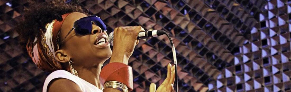 R&B singer Flo performs at News Café